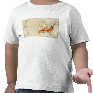 Población coloreada 10 1890 camiseta