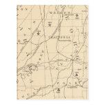 Población de centro 1880-1900 del negro 52 tarjeta postal