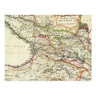 población del Cáucaso Postal