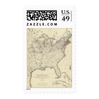 Población extranjera 1870 sello