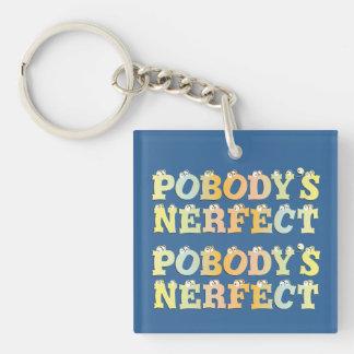 Pobody s Nerfect Pastel Acrylic Keychain