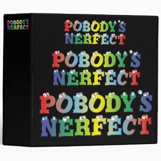 "Pobody's Nerfect Bold 2"" Binder"