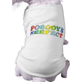 Pobody's Nerfect Bold Doggie Shirt