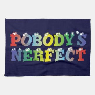 Pobody's Nerfect Bold Kitchen Towel