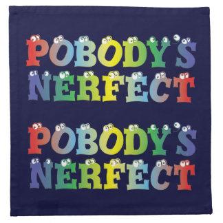 Pobody's Nerfect Bold Napkins