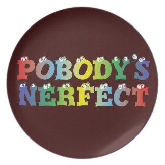 Pobody's Nerfect Bold Plate