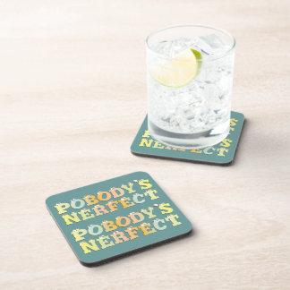 Pobody's Nerfect Pastel Cork Coaster