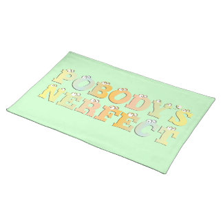 Pobody's Nerfect Pastel Placemat