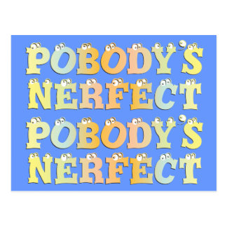 Pobody's Nerfect Pastel Postcard