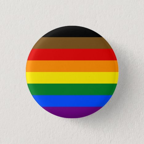 POC Inclusive LGBTQ+ Pride Button