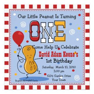 Poca 1ra invitación de la fiesta de cumpleaños del
