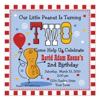 Poca 2da invitación de la fiesta de cumpleaños del