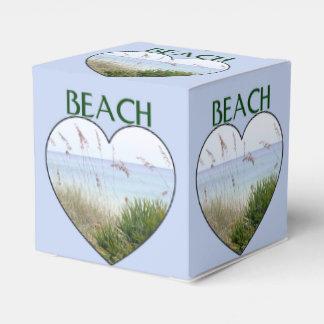 Poca caja de la playa caja para regalos