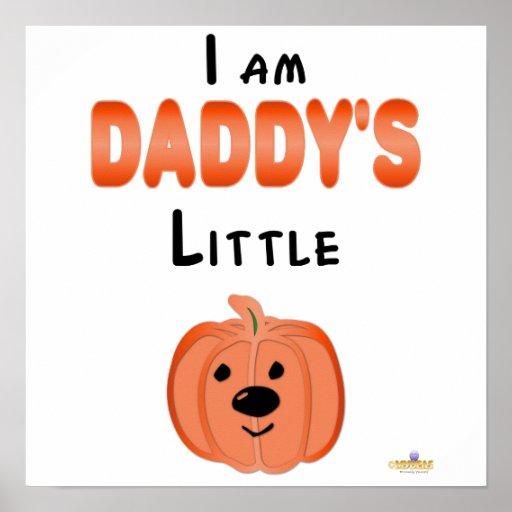 Poca calabaza soy Daddys poca calabaza Poster