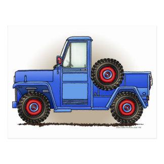 Poca camioneta pickup de cuatro ruedas
