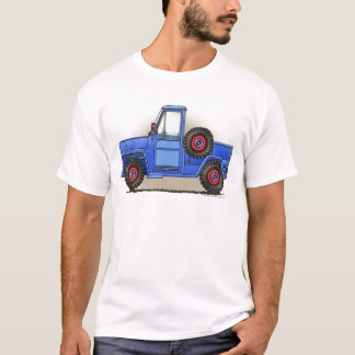 Poca camioneta pickup de cuatro ruedas playera