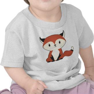 Poca camisa del bebé del Fox