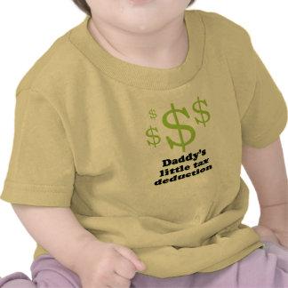 Poca camiseta de la deducción fiscal del papá