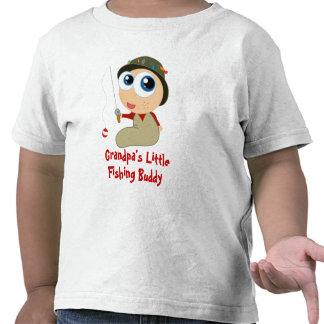 Poca camiseta del compinche de la pesca del abuelo