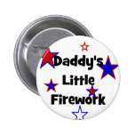 Poca camiseta del fuego artificial del papá pins