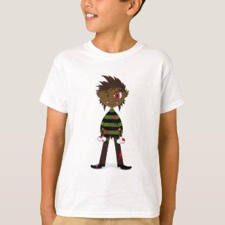 Poca camiseta del hombre lobo de Halloween Remera
