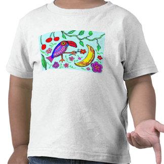 Poca camiseta del niño de Toucan