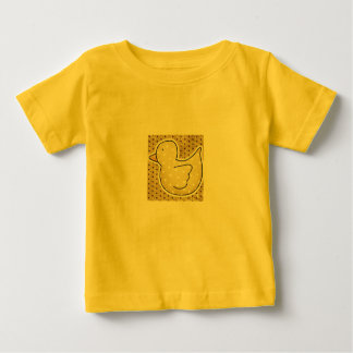 POCA camiseta DUCKY AMARILLA Poleras