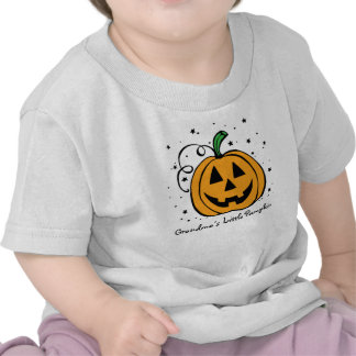 Poca camiseta infantil de la calabaza de la abuela