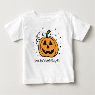 Poca camiseta infantil de la calabaza del abuelo camisas