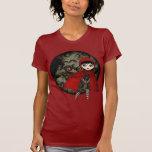 Poca camiseta roja de Capuccine