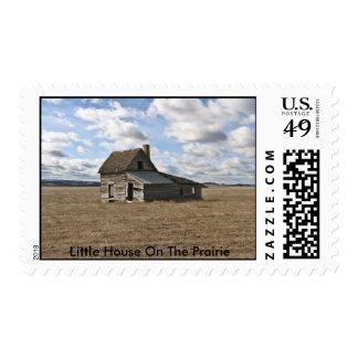 Poca casa en la pradera sello
