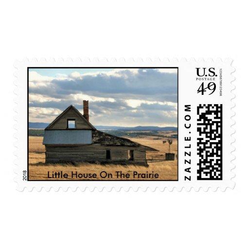 Poca casa en la pradera sellos