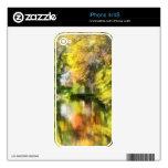 Poca casa por la corriente en otoño skin para el iPhone 4