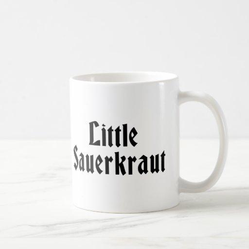 Poca chucrut taza de café