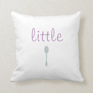 Poca cuchara/almohada grande de la cuchara almohada