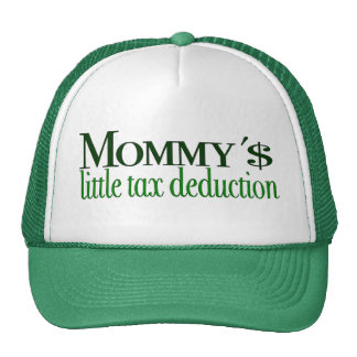 Poca deducción fiscal de la mamá gorras