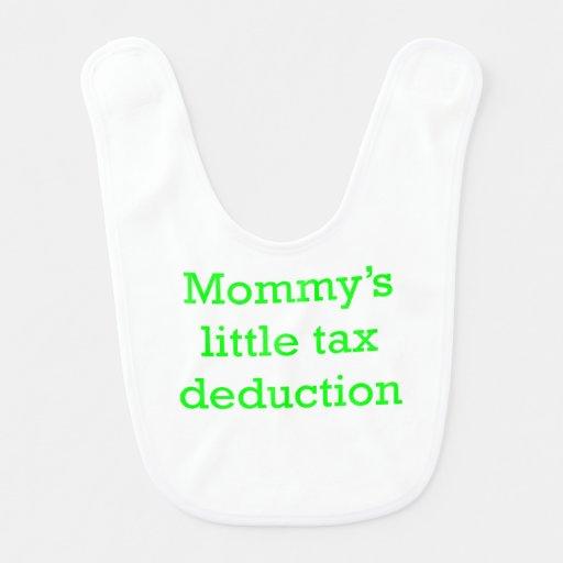 Poca deducción fiscal de la mamá babero