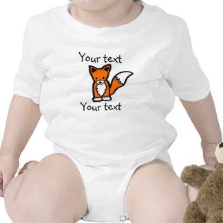 Poca enredadera del mameluco del Fox Camisetas