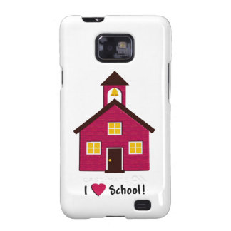 Poca escuela roja del amor de la casa I de la escu Galaxy SII Funda