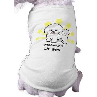 Poca estrella Bichon Frise Camisas De Mascota