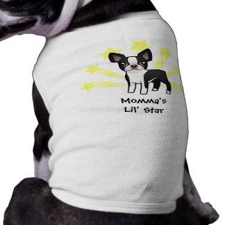 Poca estrella Boston Terrier Ropa De Perro