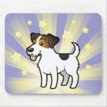Poca estrella Jack Russell Terrier Tapete De Raton