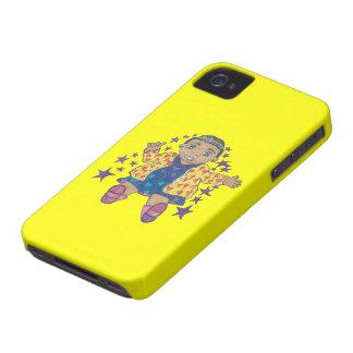 Poca estrella Mylei centellea y se eleva Case-Mate iPhone 4 Funda