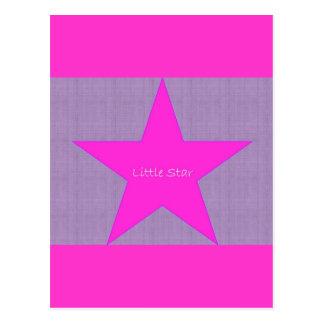 Poca estrella tarjetas postales