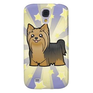 Poca estrella Yorkshire Terrier (pelo largo ningún Funda Samsung S4