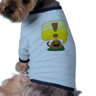 poca exclamación camisas de perritos