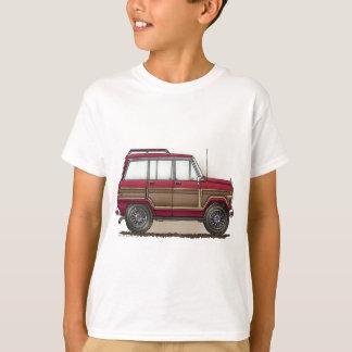 Poca furgoneta de cuatro ruedas playera