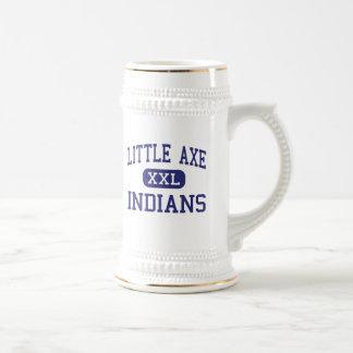Poca hacha - indios - mayor - normando Oklahoma Jarra De Cerveza