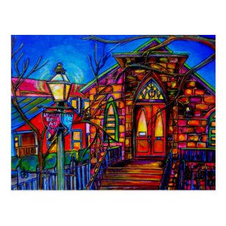 Poca iglesia en la postal de Villita del La