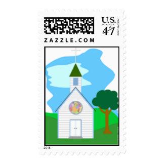 Poca iglesia sello de 44 centavos